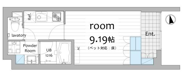 ウィンクルム野方106号室