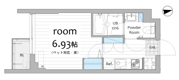 ウィンクルム野方204号室